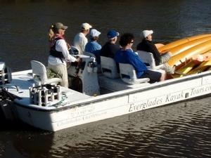 Boat Assisted Kayak Eco Tour Photos