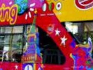 Cambridge tourist bus Photos