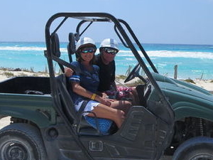 Cozumel Shore Excursion: 4x4 Rhino and Snorkel Adventure Tour Photos