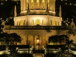 Evening Haifa tour. Photos