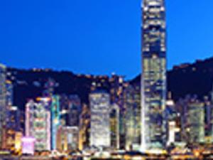 Evening The Lights Of Hong Kong Photos