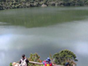 Guatavita Lagoon. Photos