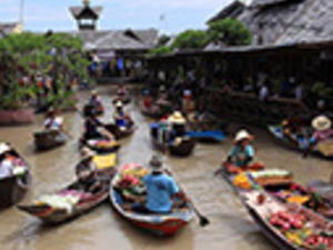 Half Day Pattaya Floating Market Photos
