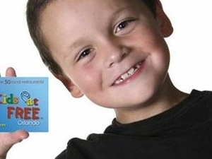 Kids Eat Free Card Photos