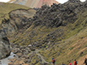 Landmannalaugar by bus Photos
