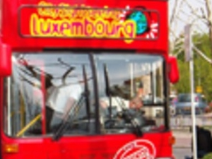Luxembourg tourist bus