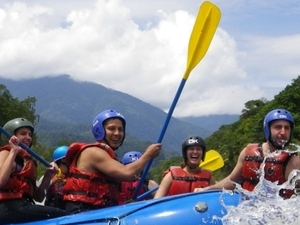 Mountain Biking, Rafting & Waterfalls Photos