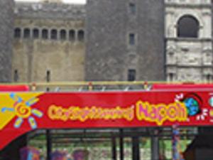 Naples tourist bus Photos