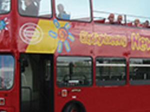 Newport tourist bus