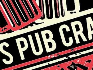 Nuts Pub Crawl London Photos