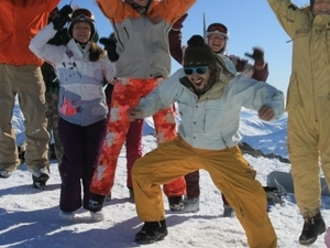One Day Skiing in Gudauri Photos