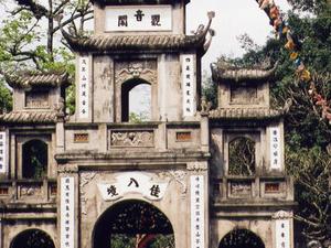 Perfume pagoda -holyland Budhist Pagodo from Hanoi Photos