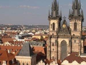 Prague City Tour by Bus and by Foot & Guard Changing Photos