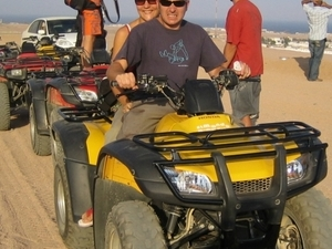 Quad Bike Hurghada Safari & Bedouin BBQ Dinner and Camel Ride Photos