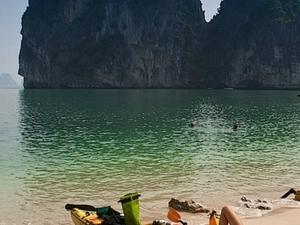 Quan Lan Island - Untouched Beach Photos
