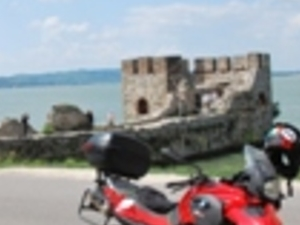 Rent and Ride BMW G650 motorcycle in Transylvania, Romania Photos