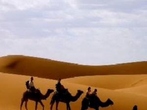 Sahara desert and Atlas Mountains  - Morocco Photos