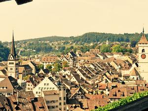 Schaffhausen. Rhine Falls. Photos
