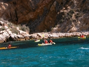 Sea Kayak. Medes Islands Photos