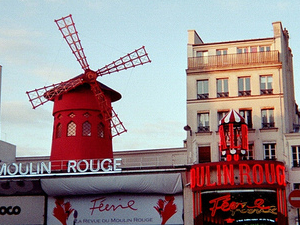 Show at the Moulin Rouge - T10A Photos