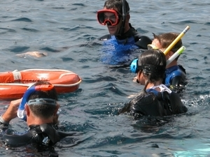 Snorkeling to the Medes Islands