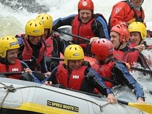 Splash Rafting and River Bugging Day Scotland Photos