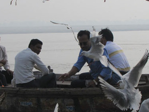 Sunrise Boat Ride in Ganga with Visit of Ghats and Morning Rituals. Photos