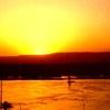 Sunset felucca