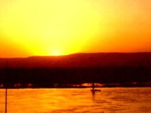 Sunset felucca Photos
