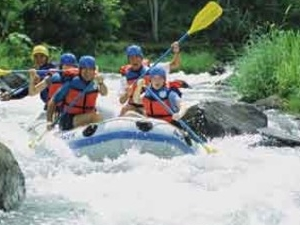 Telaga Waja White Water Rafting Photos