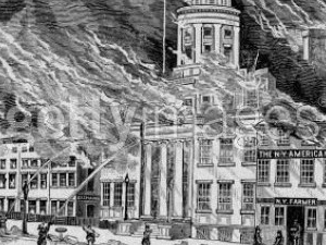 The New York City Great Fire of 1835/Financial District Photos