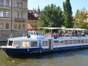 Two hour city cruise in Prague - ticket only Photos