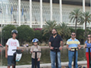 Valencia Millenium + Natura on Segway Photos
