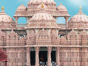 Visit a unique glimpse of the Hindu religion and Indian culture Akshardham temple Photos