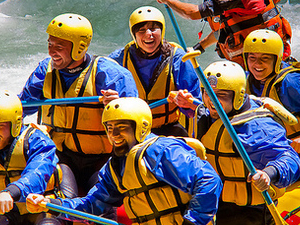 White Water Rafting Photos