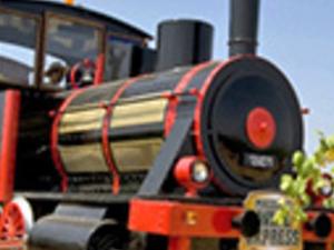 Wine Express mini-train Photos