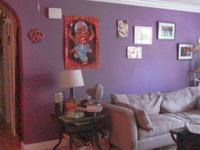 Ocean & Art Inspired Room