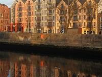Riverfront apartment