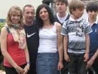 Studious family near Paris