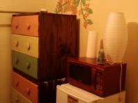 Tiny, sunny room