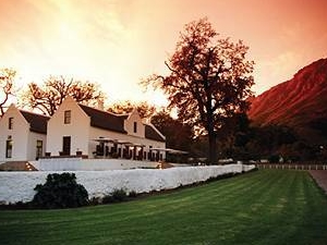 Zorgvliet Vineyard Lodge And S