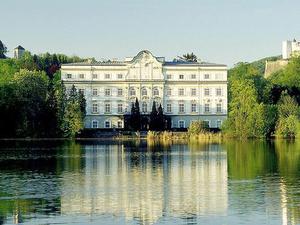 Schloss Leopoldskron And Meierh