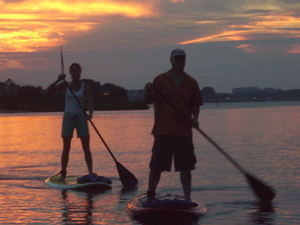 Guided Stand Up Paddle Board Adventure