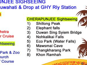 Shillong Cherapunjee Tour Package @ Rs.6200 Photos