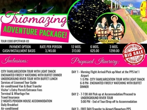 Triomazing Adventure Package