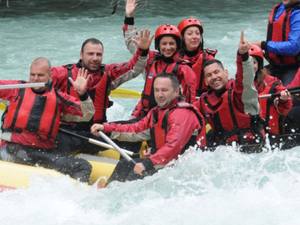 Rafting on Tara and Drina
