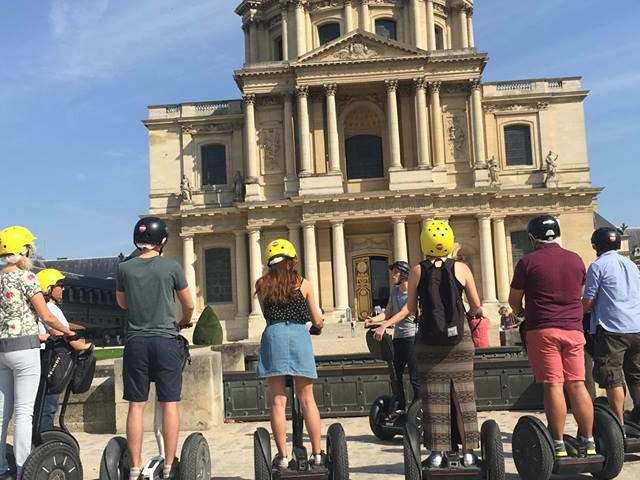 Segway Eiffel Tour Photos