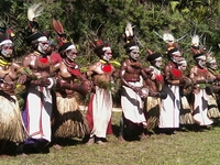 The Waola Traditional Culture 2017 Mt, Hagen Cultural Show Tour Festival 24 Days Itinerary. Two Days At The Festival And Extension Tour To Remote Local Tribes For River Cruise And Village Hike/trek And Village Home-stay @ US$3,700.00