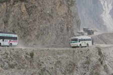 Zoji La Pass in Kashmir
