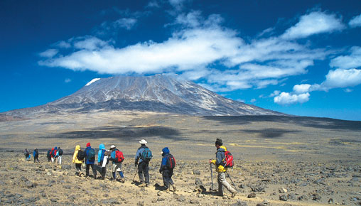 Climb Kilimanjaro Via Marangu with Above & Beyond Photos
